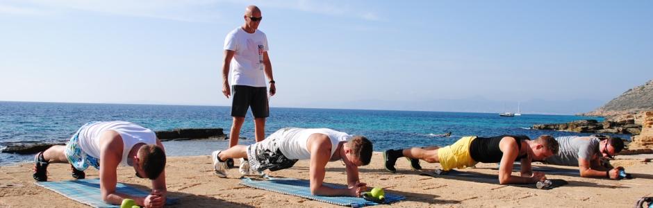 Fitness im Urlaub !